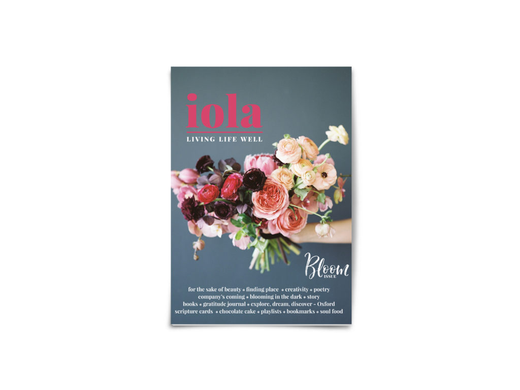 Iola Magazine bloom