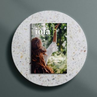 iola bookazine change issue front cover image