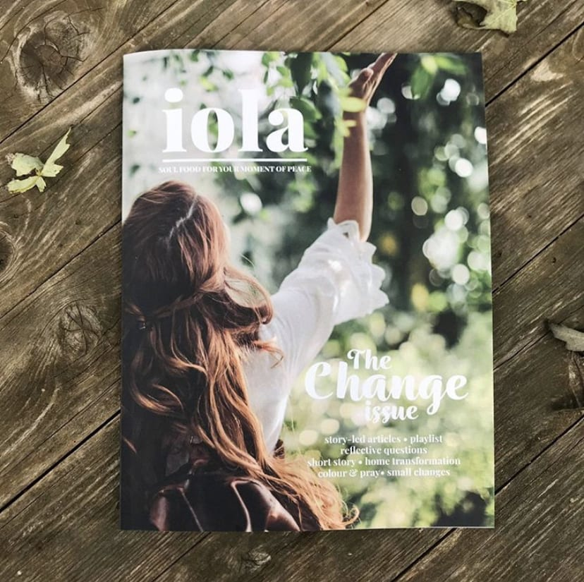 embrace change iola bookazine