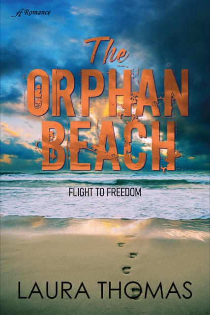 The orphan Beach by Laura Thomas book cover