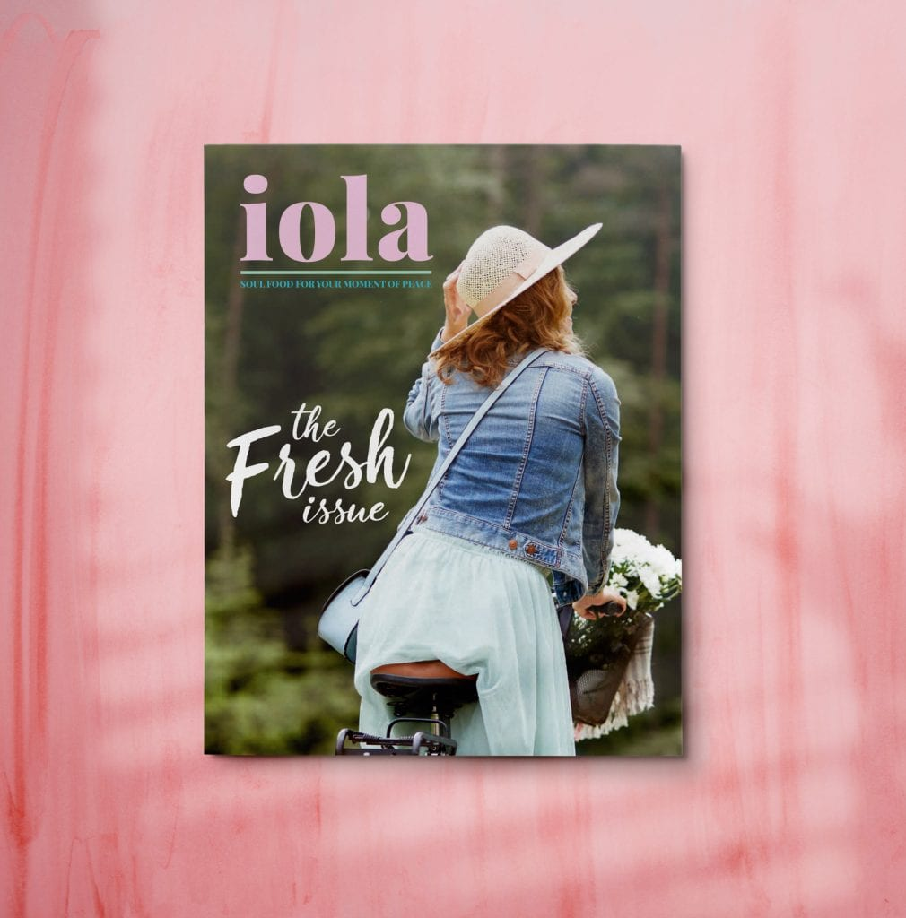 front cover image iola bookazine the fresh issue