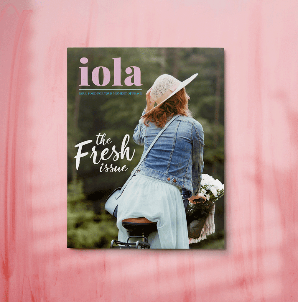 iola bookazine the fresh issue cover